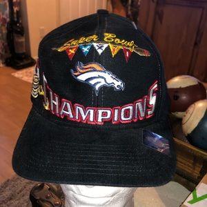 Denver Broncos super bowl 32 champions hat
